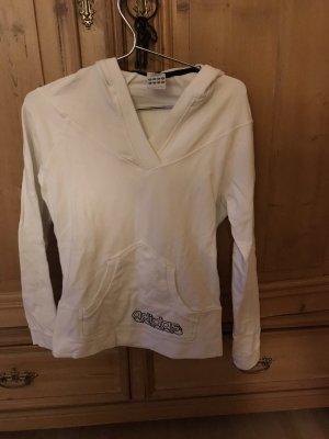 Adidas Jersey con capucha blanco
