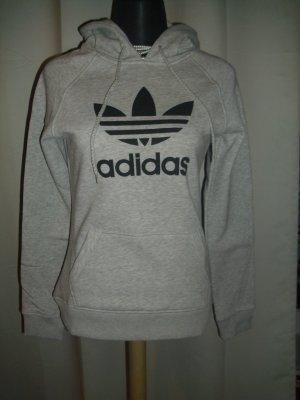 Adidas Hoodie Pullover in hell grau Größe M