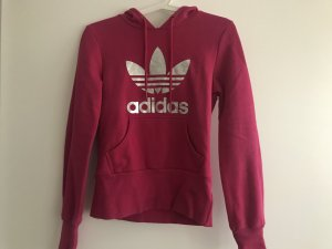Adidas Hooded Sweater violet-silver-colored
