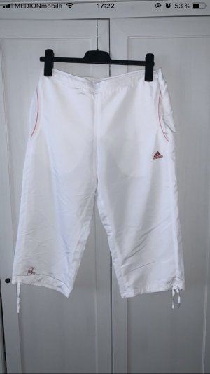 Adidas 3/4 Length Trousers white