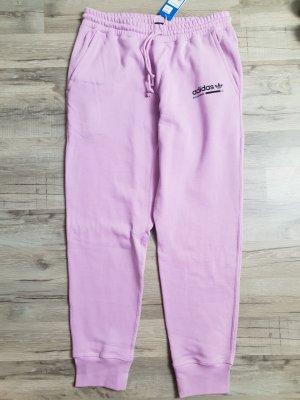 Adidas Pantalone da ginnastica rosa chiaro-lilla