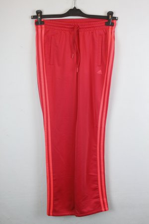 Adidas Hose Stoffhose Jogginghose Gr. XS pink/rot (18/6/126)