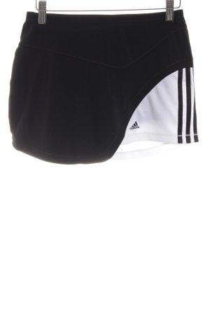 Adidas Jupes-culottes noir-blanc style athlétique