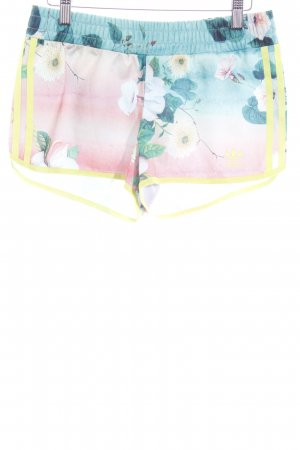 Adidas Hot Pants florales Muster sportlicher Stil