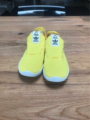 Adidas Lace-Up Sneaker yellow