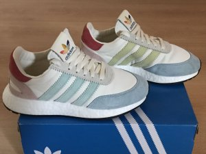Adidas Lace-Up Sneaker multicolored mixture fibre