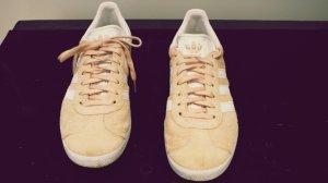 Adidas Originals Basket à lacet vieux rose daim