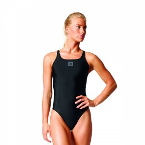 adidas Infinitex Essence Core Solid 1PC Damen Badeanzug schwarz