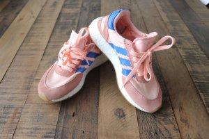 Adidas Iniki Gr. 37 1/3 lachs blau rosa