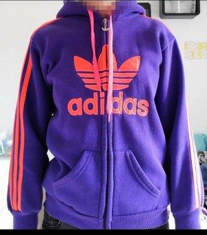 Adidas Originals Hooded Sweatshirt pink-lilac