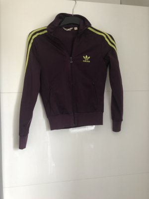 Adidas Originals Giacca sport marrone-viola-giallo neon