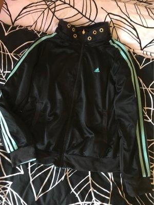Adidas Giacca doppia nero-turchese