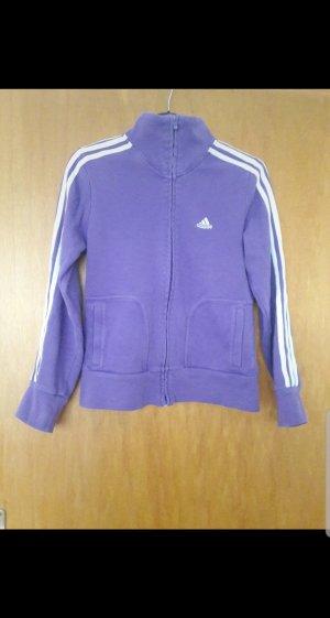 Adidas Chaqueta de tela de sudadera lila