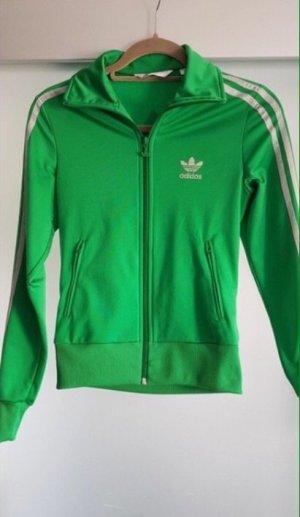Adidas Giacca sport verde
