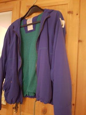 Adidas Veste de sport bleu violet-vert