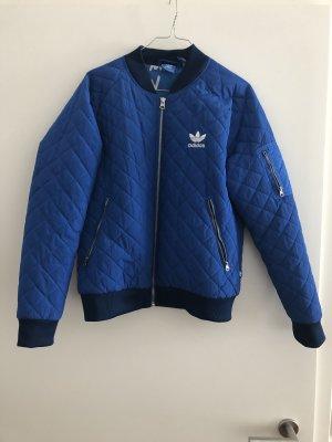 Adidas Bomber Jacket neon blue