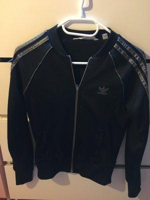 Adidas Originals College Jacket silver-colored-dark blue