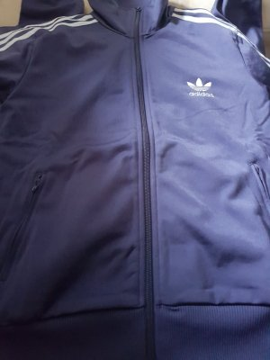 Adidas Originals Sports Jacket steel blue