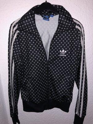 Adidas Originals Sportjack zwart-wit