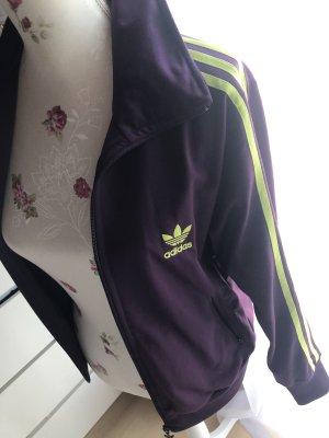 Adidas Sports Jacket lilac-neon yellow