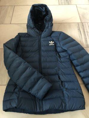 Adidas Veste d'extérieur bleu acier