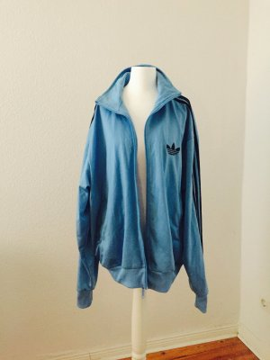 Adidas Jacke blau lang