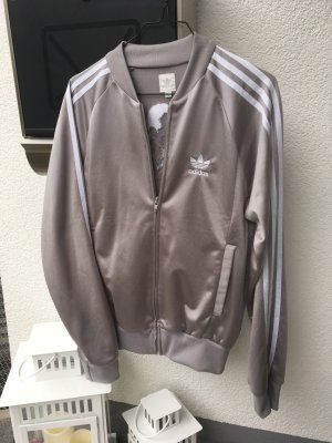 Adidas Sports Jacket silver-colored