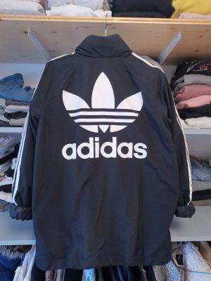 Adidas Veste oversize blanc-noir