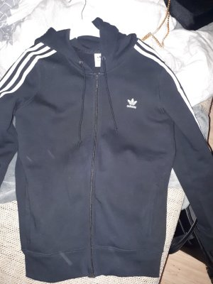 Adidas Originals Jacket white-black cotton