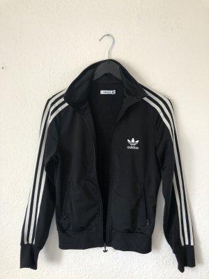 Adidas Sportjack zwart-wit