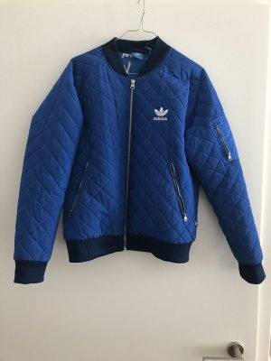 Adidas Bomberjack neon blauw