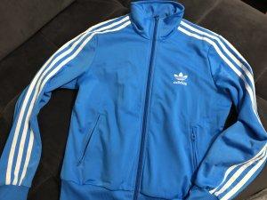 Adidas Giacca sport turchese-blu neon