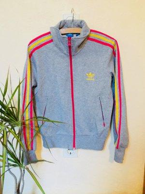 Adidas Chaqueta estilo camisa multicolor