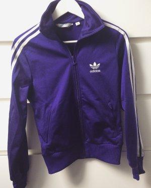 Adidas Jacke in Blau/Lila
