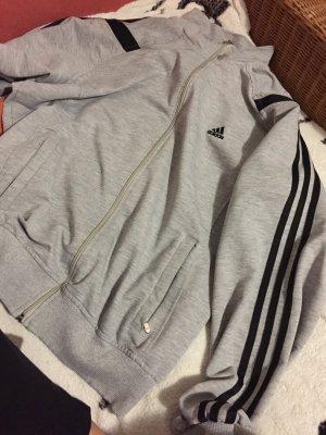 Adidas Jacke in Grau