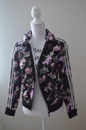 Adidas Jacke mit Blumen print
