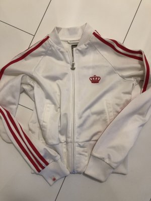 Adidas Veste chemisier blanc-rose