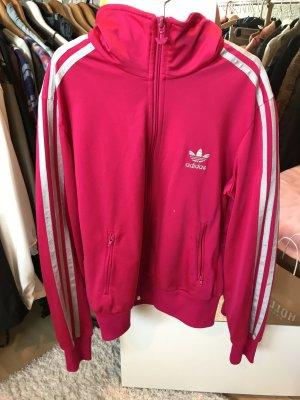 Adidas Jacke Pink/ Silber