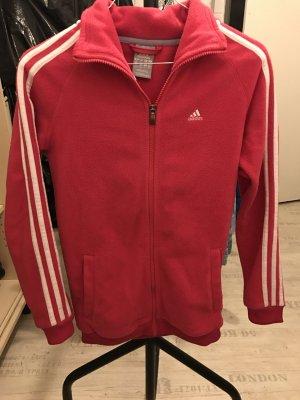 Adidas Jacke - pink&weiss