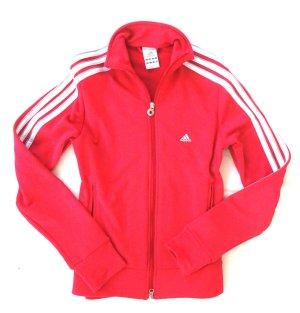 Adidas Jacke pink weiß Gr. 38 M