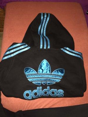 Adidas Jacke schwarz/blau
