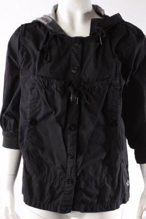 Adidas Jacke schwarz Kapuze