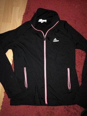 Adidas Jacke schwarz pink 38