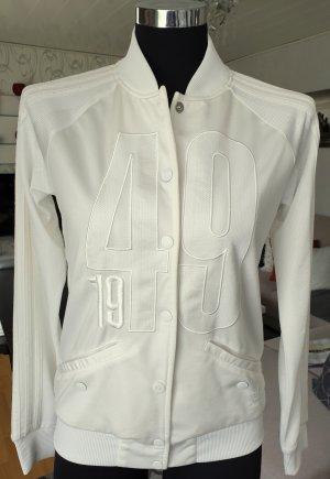 Adidas Sweat Jacket natural white