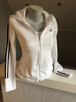 Adidas, Jacke, Sweatshirtjacke, weiß, Größe S