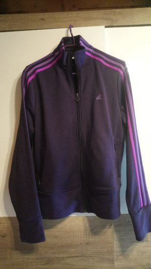 Adidas Jacke Trainingsjacke lila 42 L
