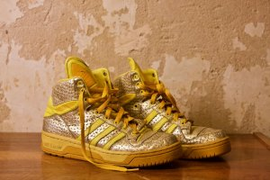 Adidas Jeremy Scott High Top Sneaker