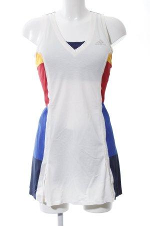 Adidas Jersey Twin Set weiß-blau Casual-Look