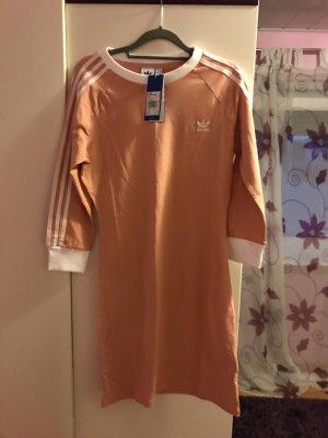 Adidas Abito jersey color oro rosa