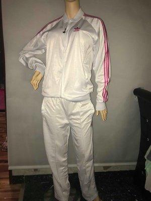 Adidas Joggingkleren wit-roze Gemengd weefsel